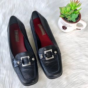 Brighton Black Loafers- Size 9 1/2